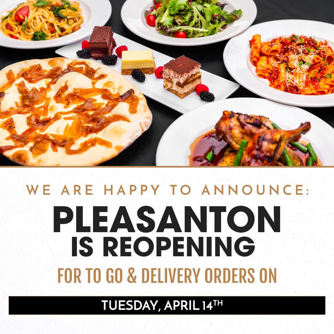 Pleasanton is Reopening!